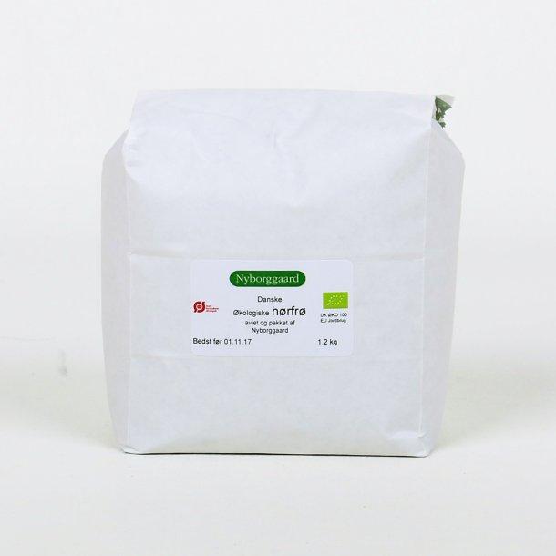 Økologiske hørfrø avlet på Nyborggaard (1200 g)